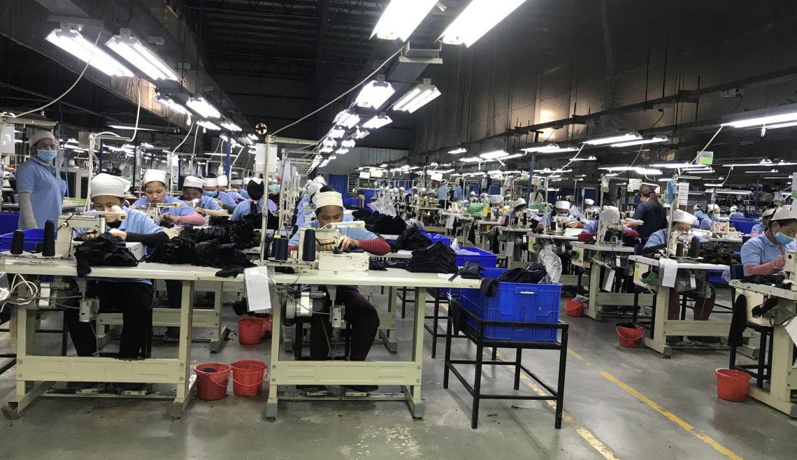 カンボジア工場